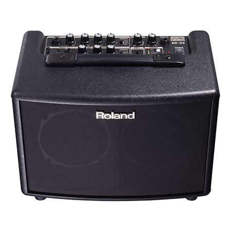 Spotlight: Roland AC-33 Acoustic Guitar Amplifier
